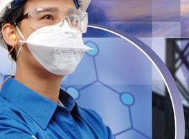 防尘防毒的呼吸阀口罩|带呼吸阀的防尘口罩